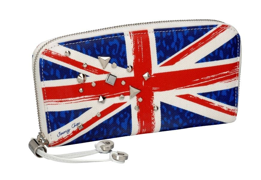 Filipa - printed denim with studs - union jack