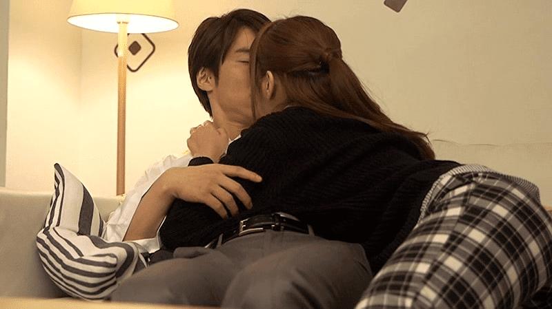 GIRL'S CH「一徹×アキノリ」シリーズ『Re:逢いたい』の紺野ひかるのキスシーン画像1枚目
