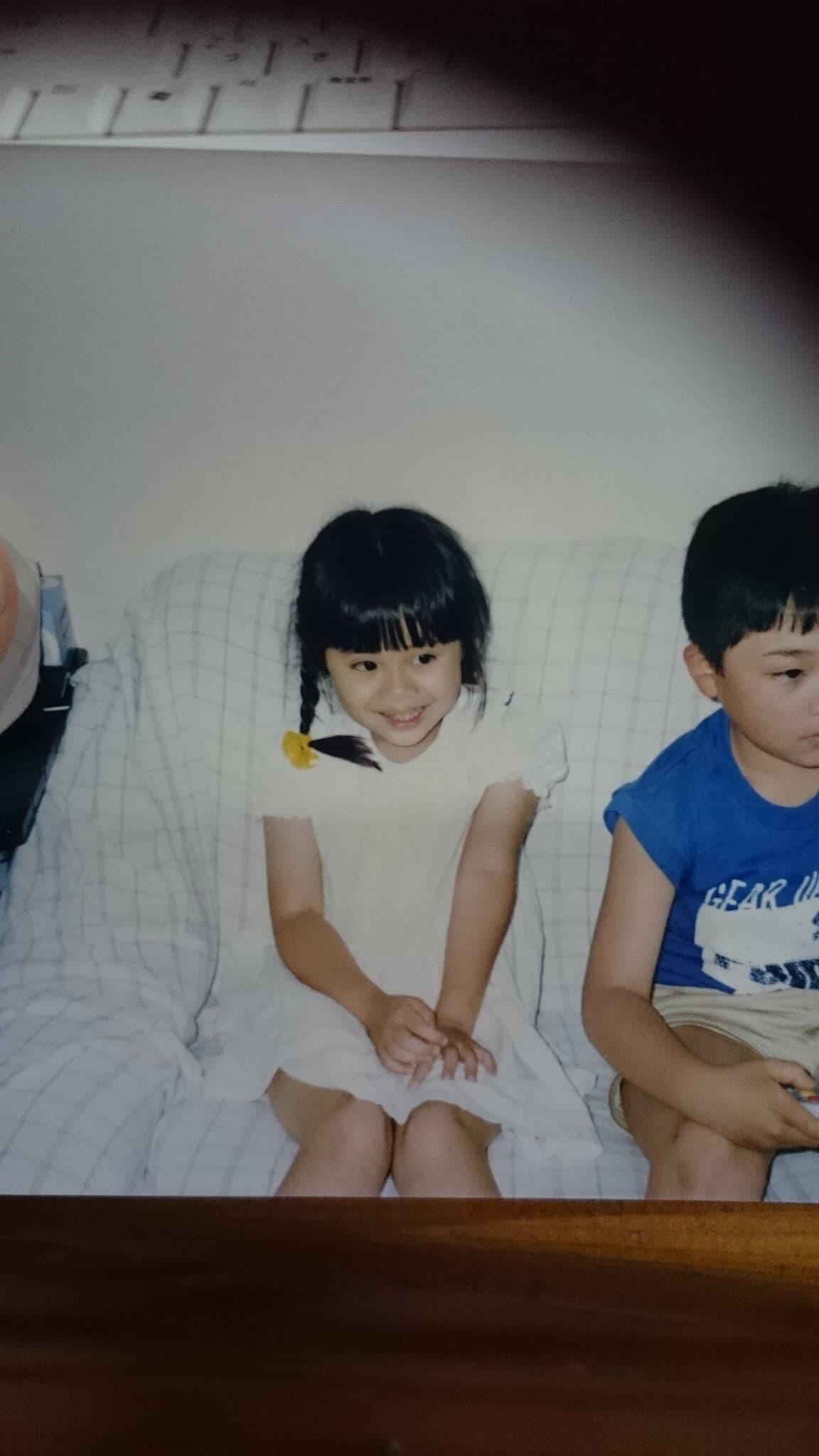 元鈴木さんの子どものころの画像