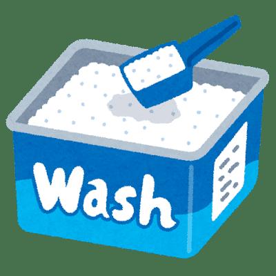 下着用洗剤のイラスト