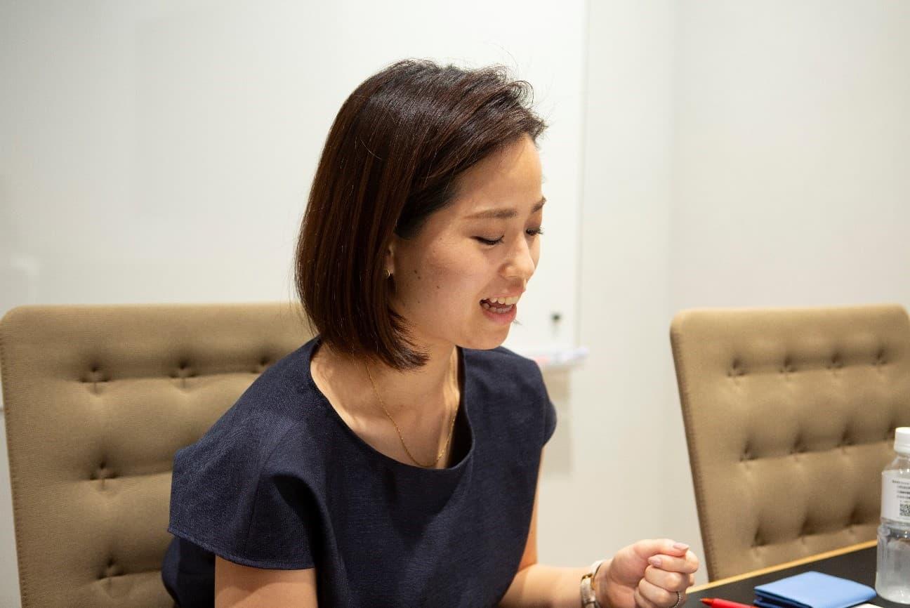日本の恋愛規範についてインタビューに答える大森美佐さん