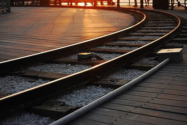 線路の画像
