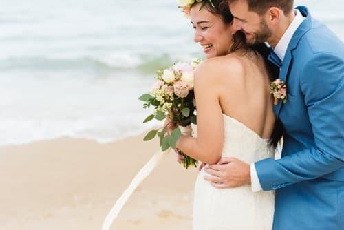 楽しい結婚式の画像