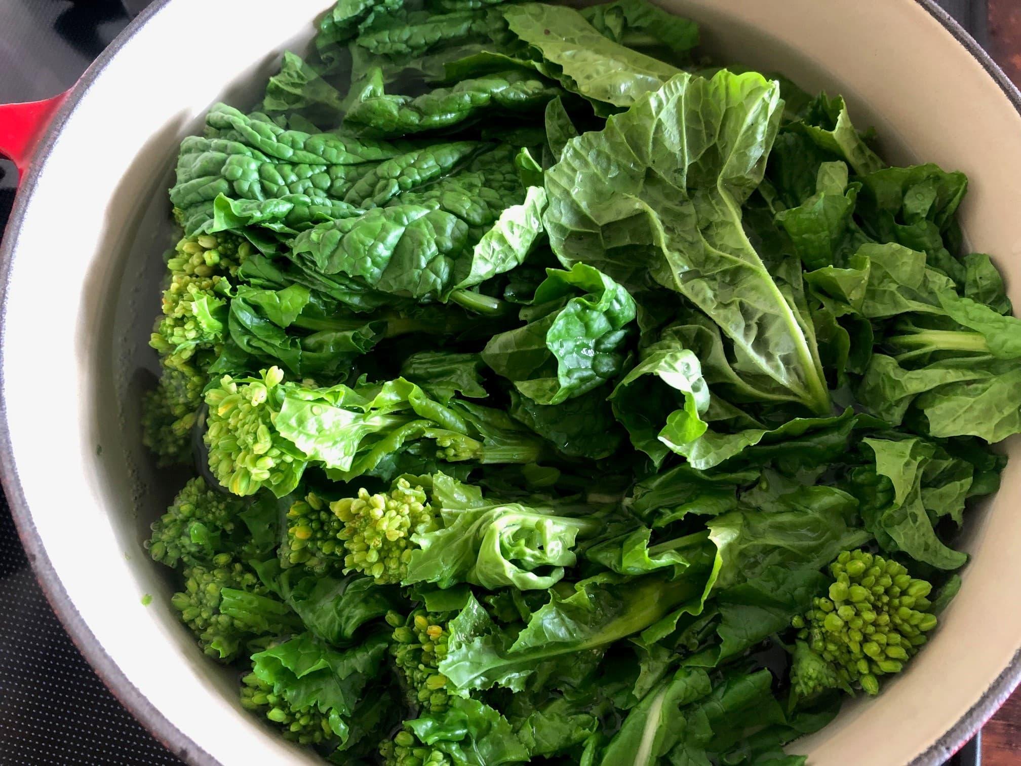 春キャベツと菜の花のおひたしのレシピ