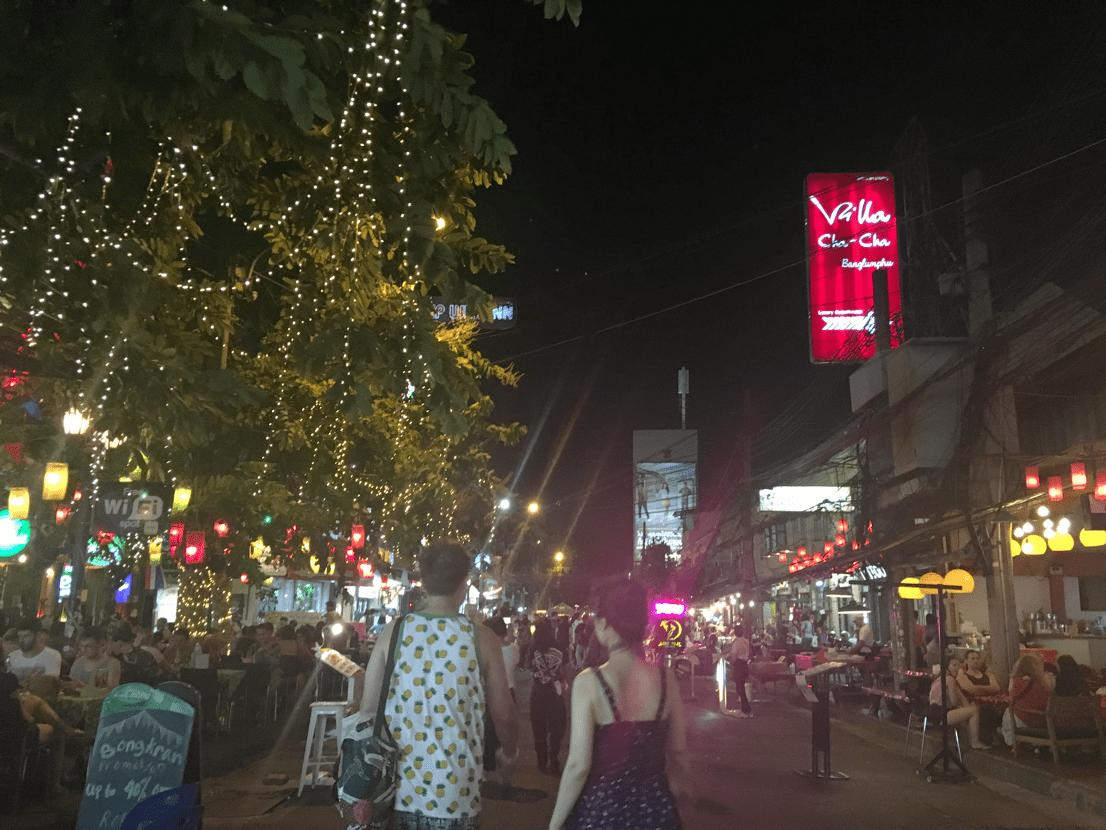 タイの市場の画像