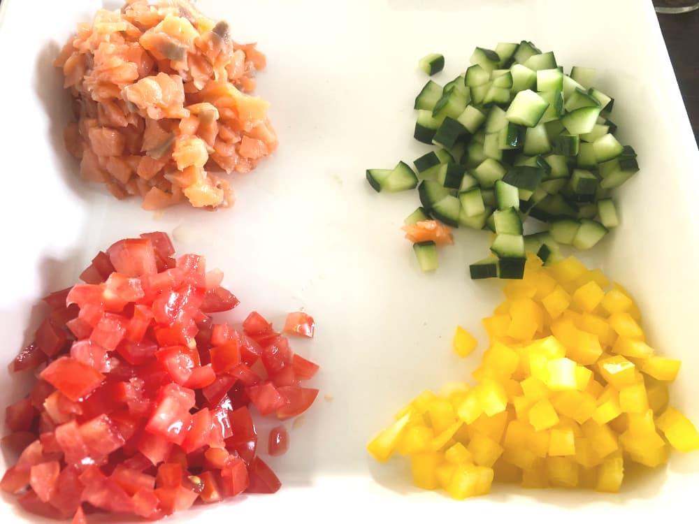食べる野菜スープの画像