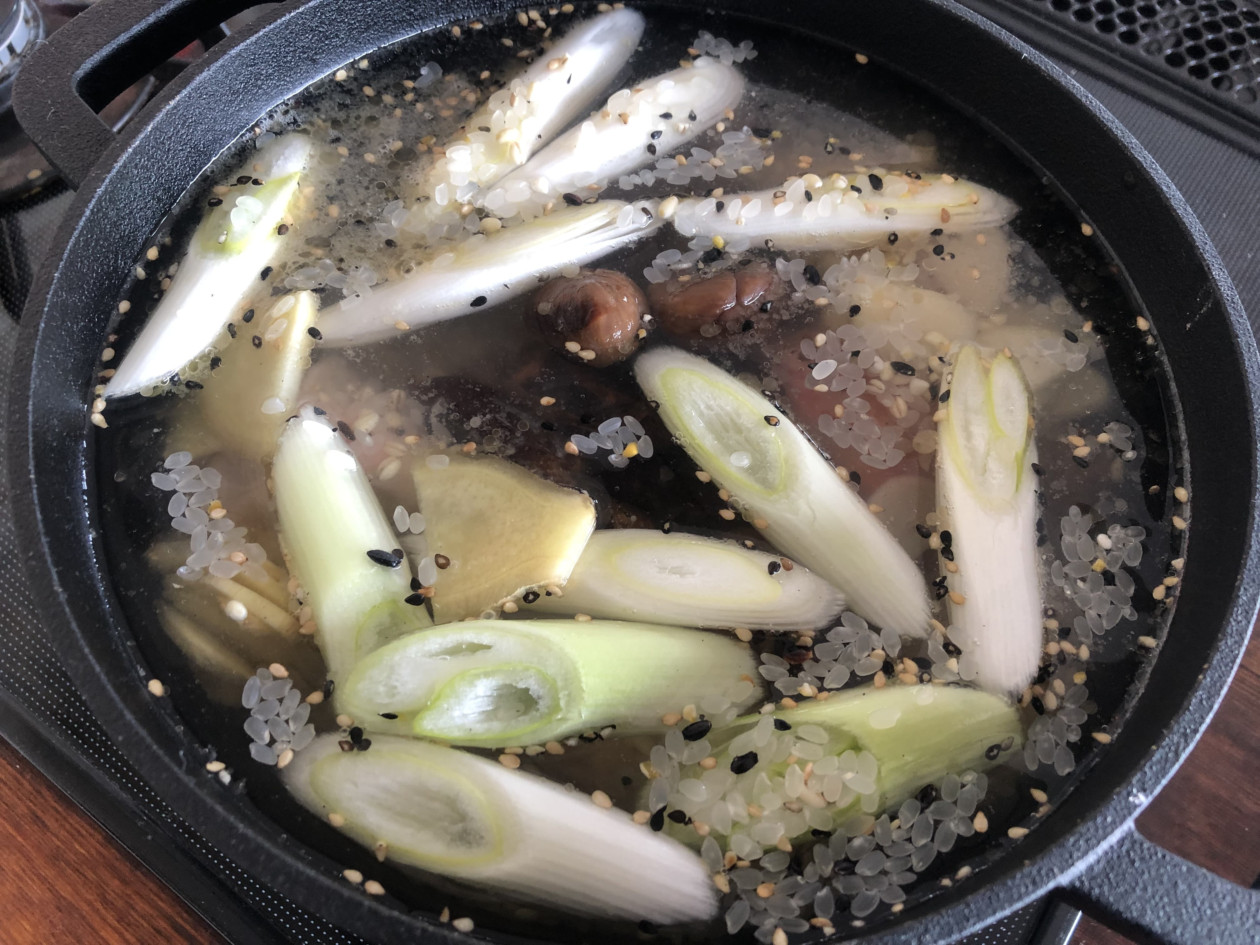 参鶏湯風スープ
