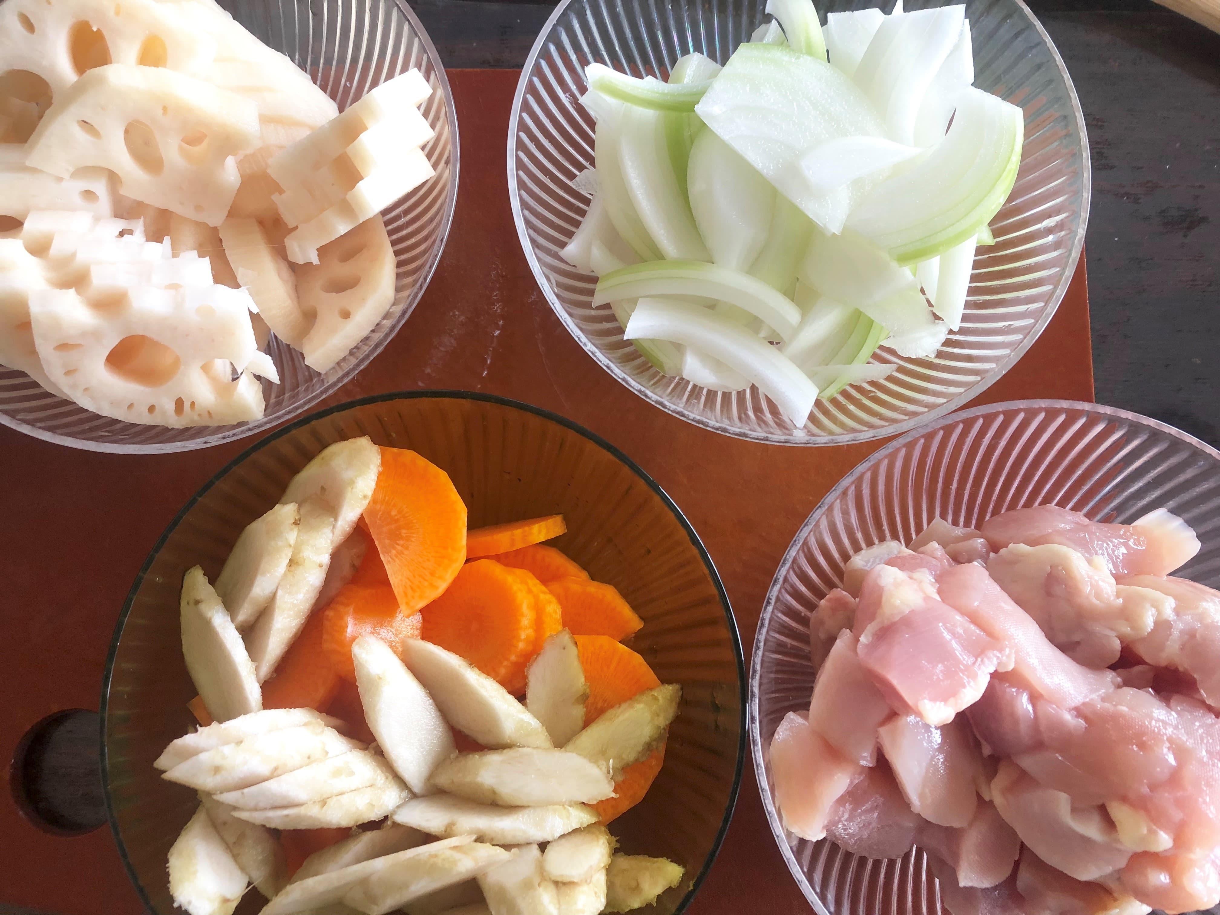 太田みおさんの根菜ミルクスープレシピ