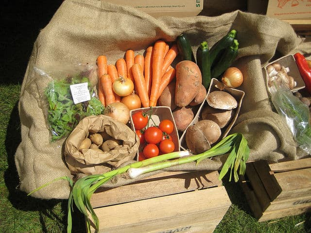 Organic Vegetable Boxes By AndyRoberts Photos
