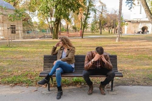 彼氏と会話にならない画像