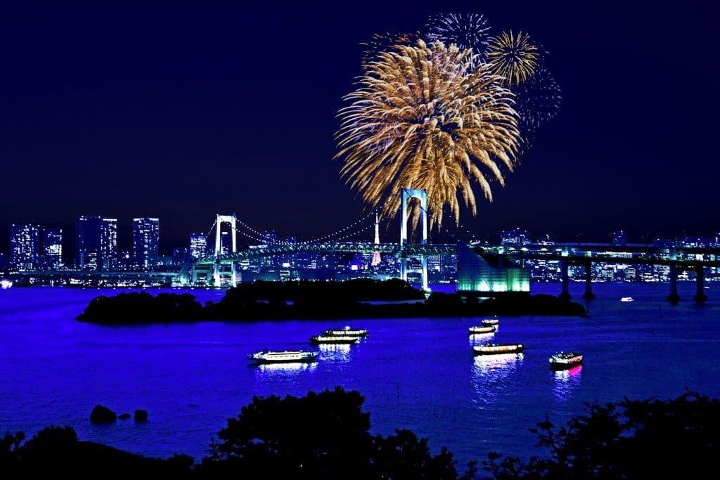 台場 パラッツォ エ マーレ アクアシティ 東京大華火祭