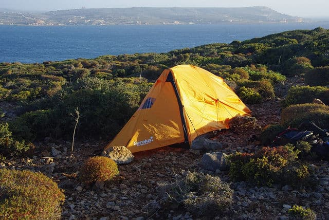 Camping spot the First By Martin Lopatka
