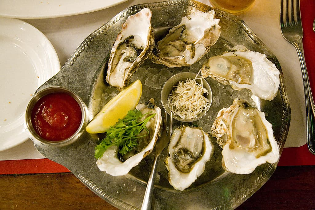 Oyster Combination Plate By pointnshoot