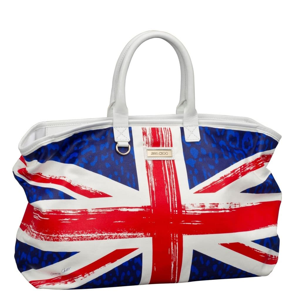 Opal Small - printed denim with stars - union jack