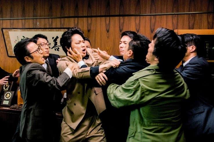 たけうちんぐ 映画 日本で一番悪い奴ら 綾野剛 中村獅童 YOUNG DAIS 植野行雄 ピエール瀧 白石和彌 稲葉圭昭 恥さらし 北海道警 悪徳刑事の告白