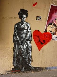 パリにいるヒンシュク我が物顔日本人女性