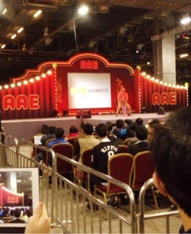 マカオ ASIA ADULT EXPO OLIVIA ショータイム!