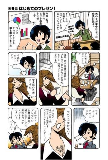 サラリーマン田中K一がゆく!第9話「はじめてのプレゼン!」/田中圭一