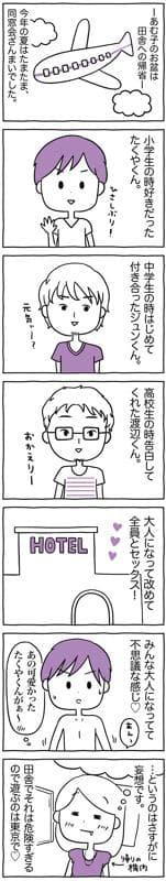 同窓会で久しぶりに再開した同級生3人とセックス…!?/あむ子の日常(22)