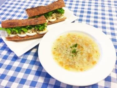まるで魔法のレシピ!体調不良の恋人に捧げるフランス発「ガルビュール風スープ」