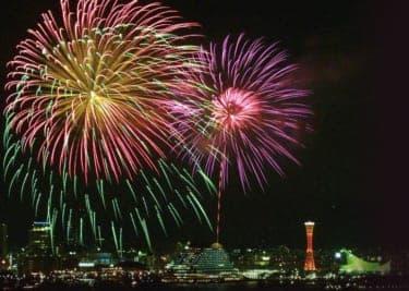 神戸で楽しむ夏の風物詩「みなとこうべ海上花火大会」