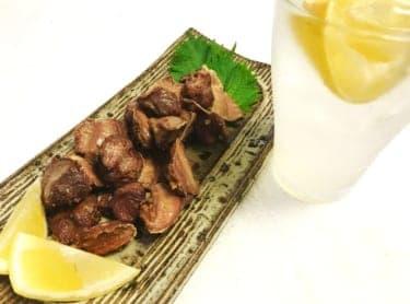 一日おつかれさま!まいったねぇさんから最後のレシピ「レモンサワーと砂肝のからあげ」