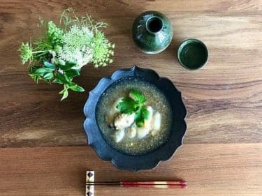 冬の晩酌、日本酒のおともに最高!牡蠣とかぶのみぞれ煮レシピ