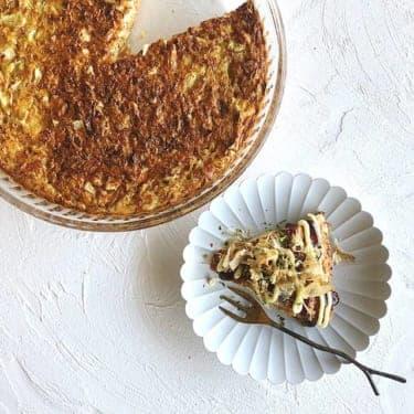 お好み焼きのおもてなし版?秋の旬「山芋」ふわふわ焼きレシピ