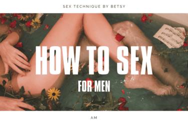 セックステクニックで女性を本当に気持ちよくする基礎知識【男性向け】