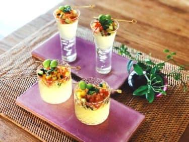 暑い夏にはこれ!宝石のように輝く「食べる野菜スープ」レシピ