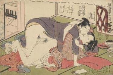 なぜ日本人はキスをするようになったのか?「接吻」を紐解く/春画―ル