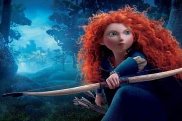 母を救うため、勇敢に戦う一人の王女『メリダとおそろしの森』