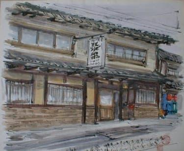 京都にて夏の終わりを洛中伝承の日本酒と一緒に
