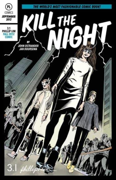 """3.1 フィリップ リムからオリジナルコミックブック""""Kill The Night""""が登場"""