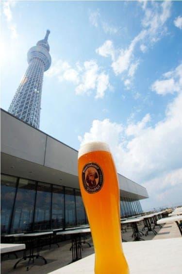 東京スカイツリー®を眺めながら世界各国のビールが味わえる!『世界のビール博物館』