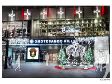 クリスマスの表参道原宿がディズニー一色に!『表参道原宿 DREAM TOGETHER プロジェクト 2012』