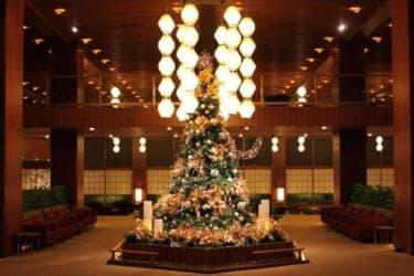 ホテルオークラ東京でクリスマス!