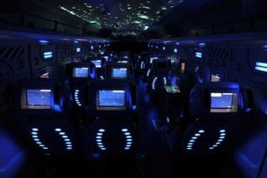 都内を宇宙ツアー!?  新感覚のアトラクションバス『STAR FIGHTER』