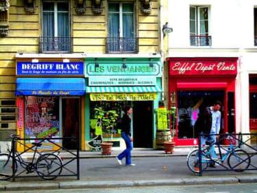 パリの歌舞伎町にあるセックスショップを突撃!