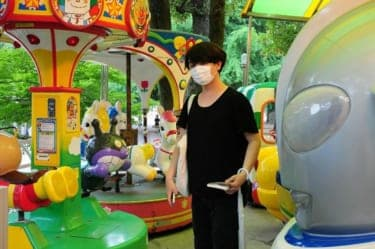 想像妊娠したパンダ・シンシンに会いに…/少年アヤちゃんの東京散歩