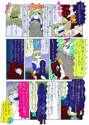 【谷口菜津子WEB漫画】厨二童貞VSアラサーの仁義なき戦い!