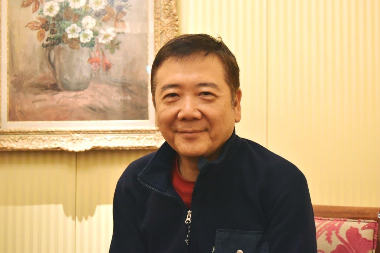 演出家の鴻上尚史さんの画像