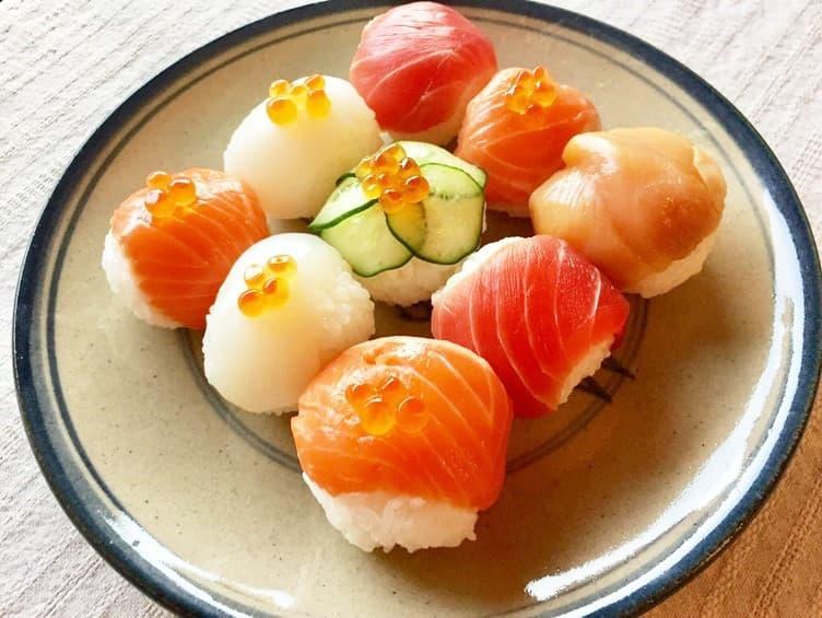 ヒモ まいったねぇ レシピ 手まり寿司 ひな祭り