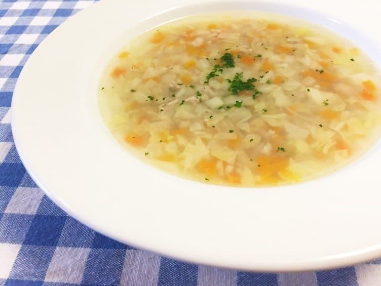 ヒモ まいったねぇ レシピ ガルビュール風スープ