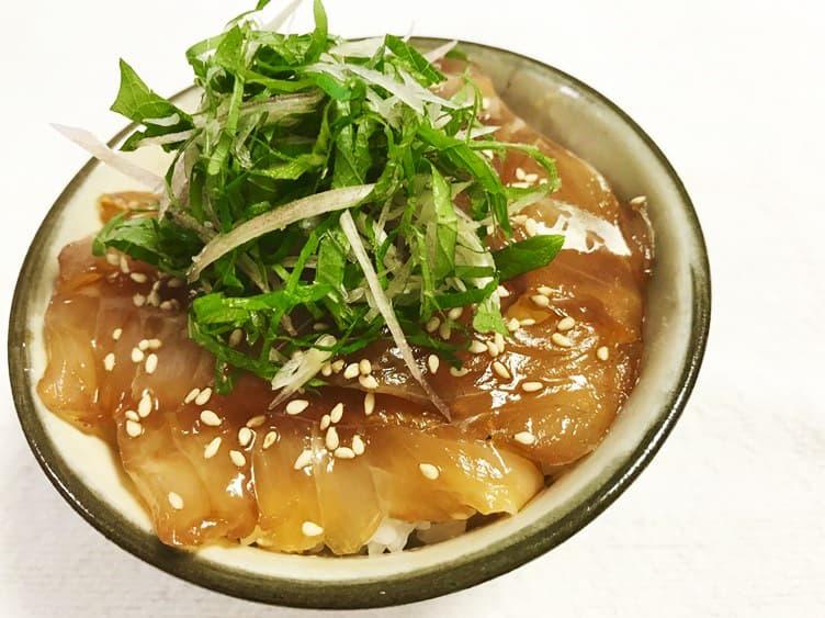島寿司風漬け丼