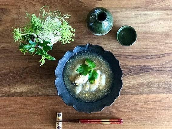 牡蠣のみぞれ煮のレシピ画像