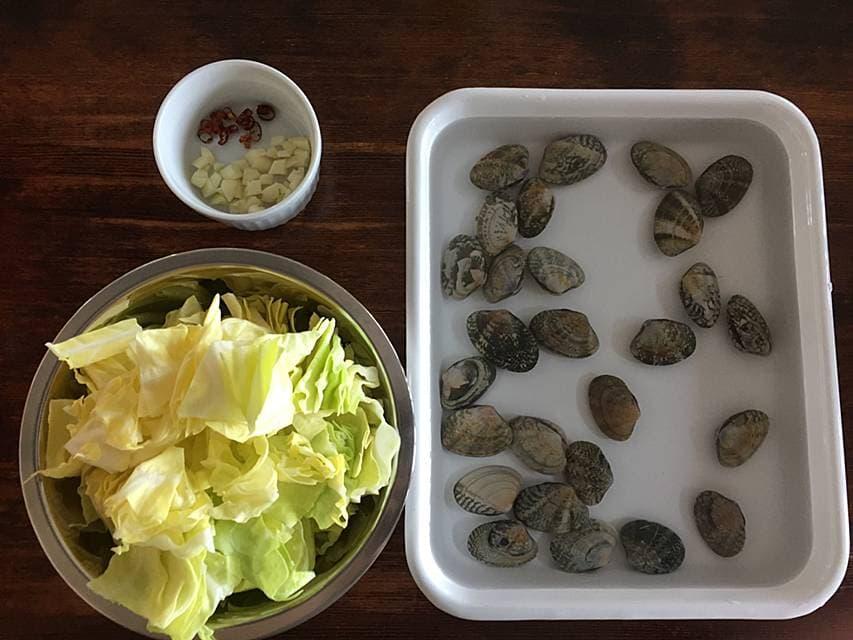 太田みお シティーガールの歳時記 春キャベツ あさり パスタ レシピ おひとりさま