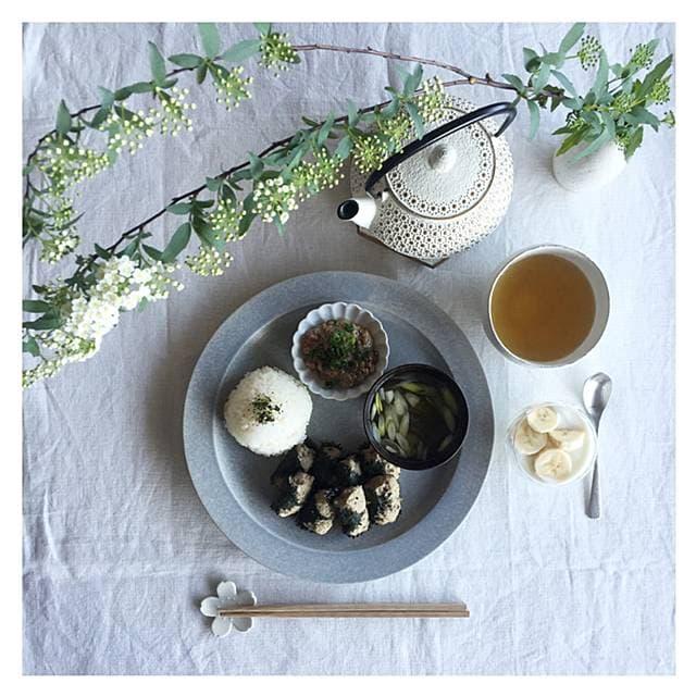 太田みお 花粉症 いわしのつみれ みそ汁 納豆 バナナヨーグルト 緑茶