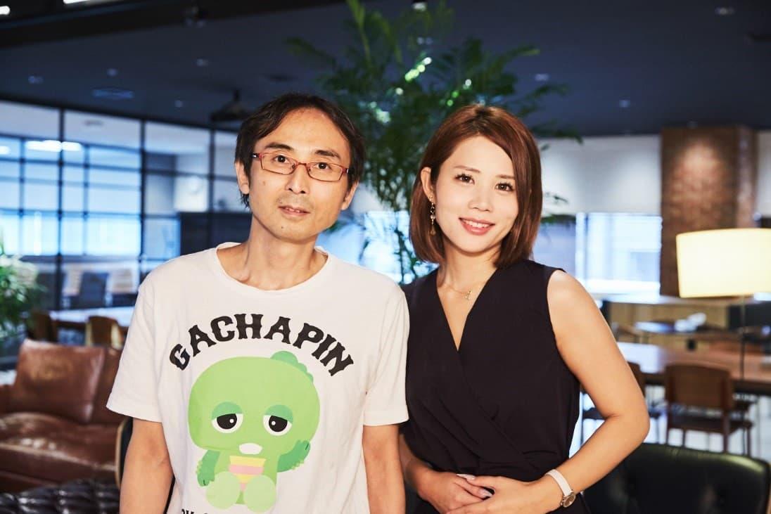 鈴木涼美さんと中川淳一郎さんの写真