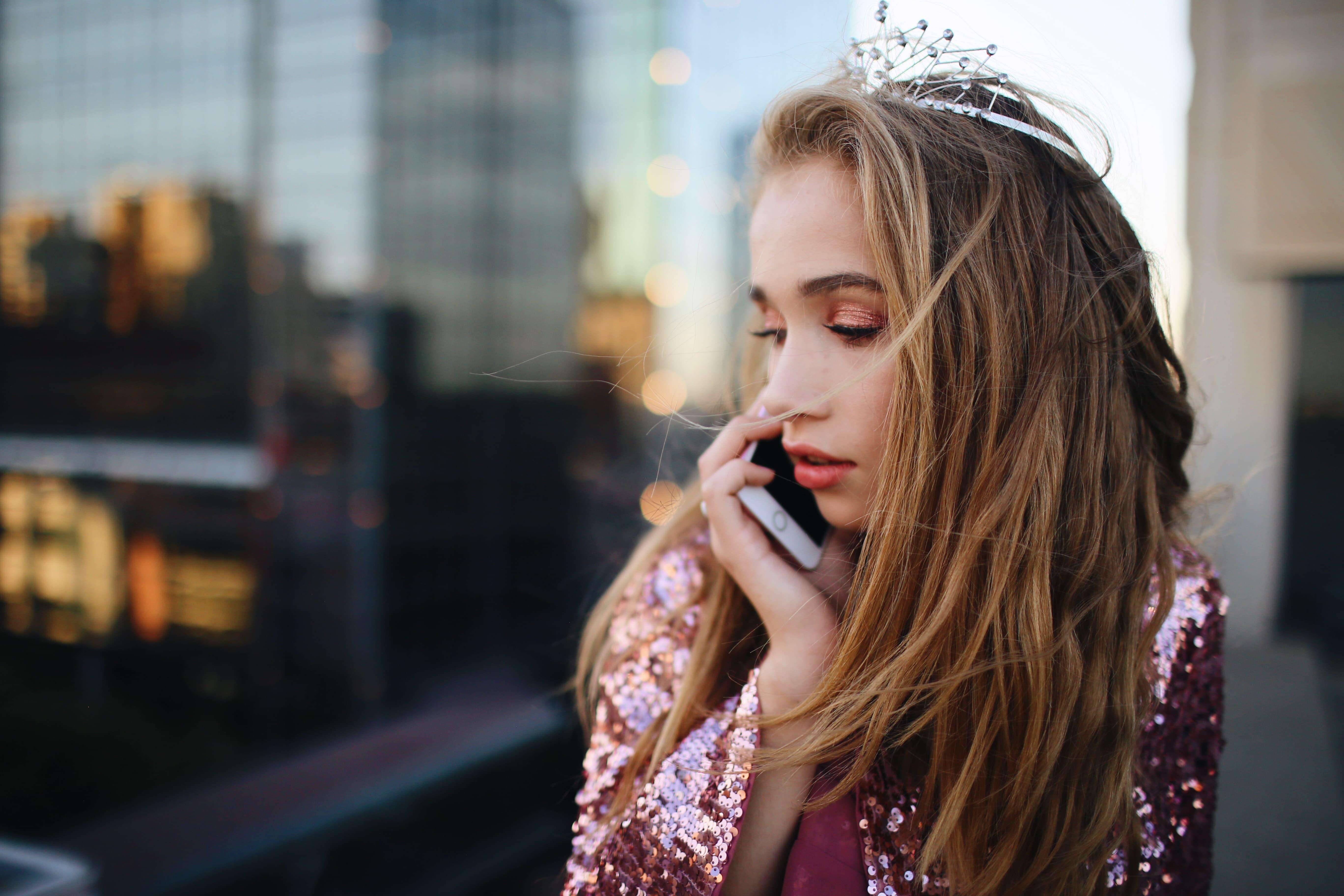 連絡待ちのお姫様